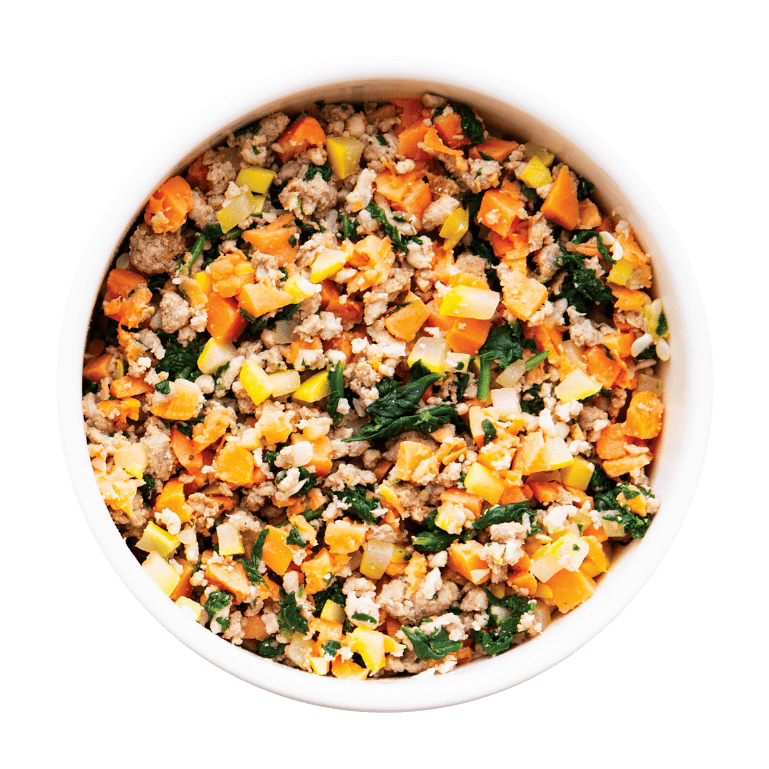 Bowl of Nom Nom Chicken Cuisine