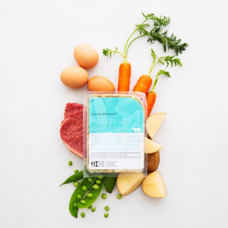 Nom Nom Beef Mash Packaging