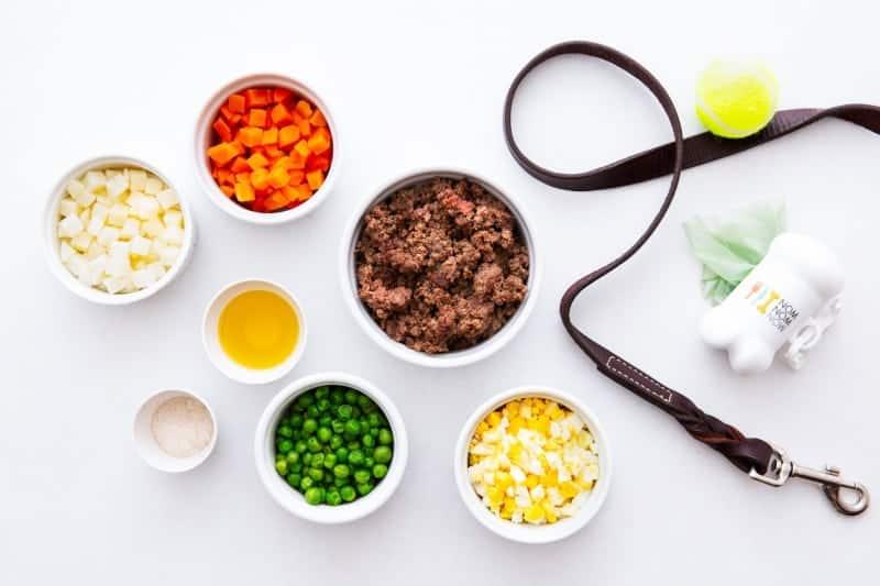 NomNom Beef Mash Ingredients