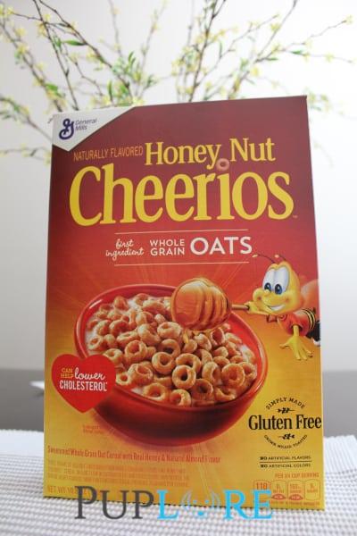 Box of Honey Nut Cheerios
