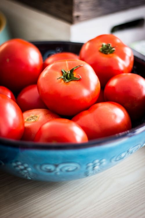 are tomatoes bad for dogs