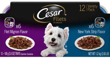 Cesar Filets worst dog food brand