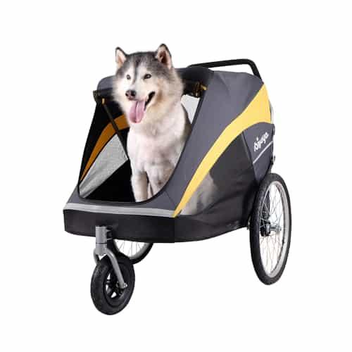 ibiyaya hercules running stroller for dogs