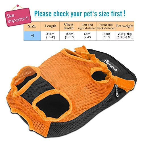 Pawaboo carrier sizing chart