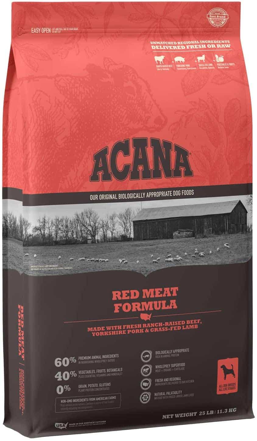 Red Meat Formula Acana Dog Food