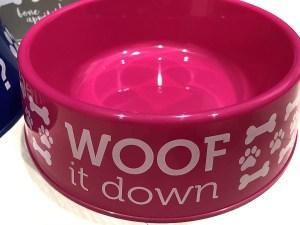 Woof it Down Dog Bowl